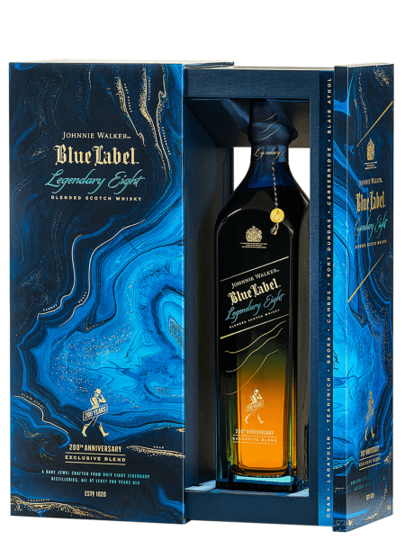 Blue Label - Legendary Eight - Blended Scotch Whisky
