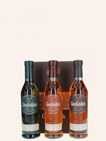 Tasting Set - 12 Jahre - 15 Jahre - 18 Jahre - Single Malt Scotch Whisky