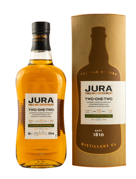 Two-One-Two - 13 Jahre - 2006/2019 - Single Malt Whisky