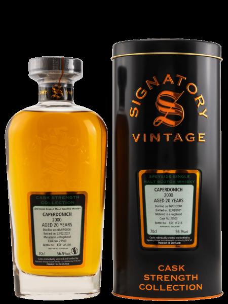 20 Jahre - 2000 - Signatory Vintage - Cask Strength Collection - Cask No. 29503 - Single Malt Whisky