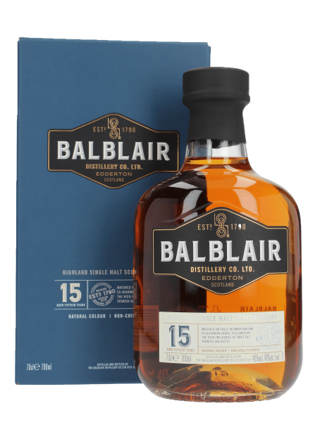 15 Jahre - Highland Singe Malt Scotch Whisky
