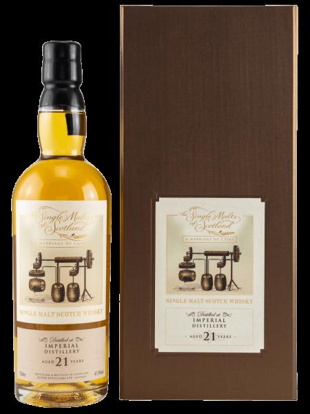 21 Jahre - A Marriage of Casks - The Single Malts of Scotland - Single Malt Whisky