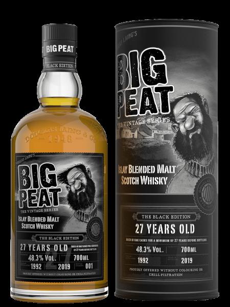 Big Peat The Black Edition - 27 Jahre - 1992/2019 - The Vintage Series - Blended Malt Scotch Whisky