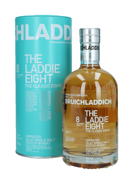 8 Jahre - The Laddie 8 - Unpeated Islay Single Malt Scotch Whisky