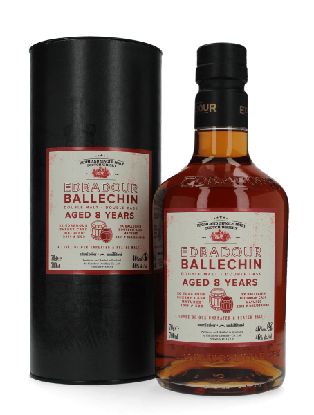Ballechin - Cuvee - 8 Jahre - Old Double Malt Cask
