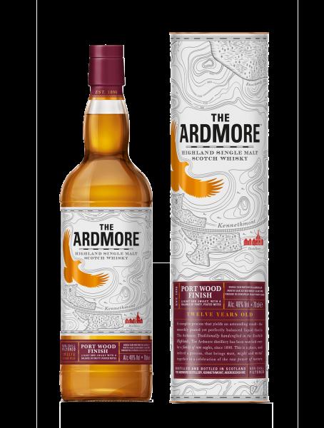 12 Jahre - Port Wood Finish - Single Malt Scotch Whisky
