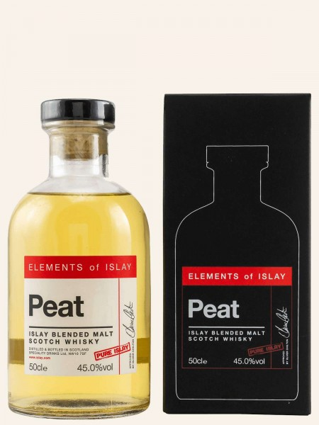 Elements of Islay - Peat Pure Islay - Blended Malt Scotch Whisky