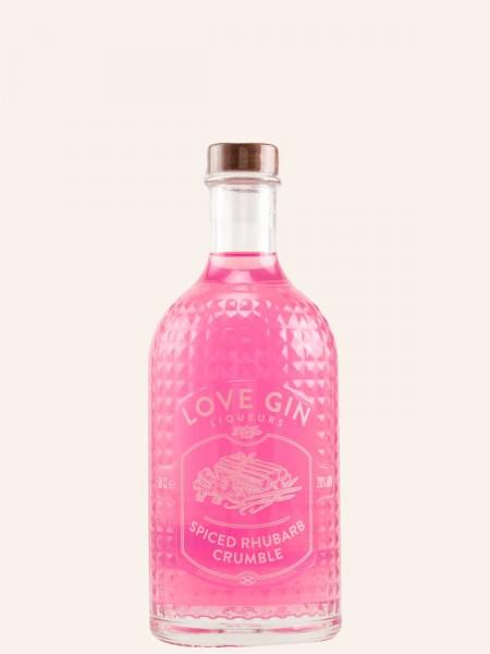 Love Gin Liqueurs - Spiced Rhubarb Crumble - Gin Likör