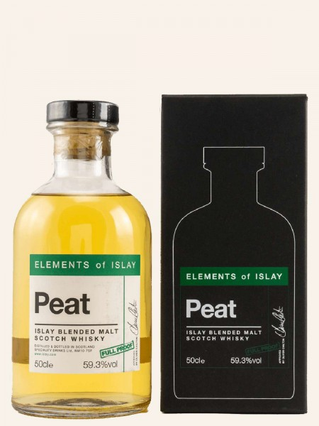 Elements of Islay Peat Full Proof - Blended Malt Scotch Whisky