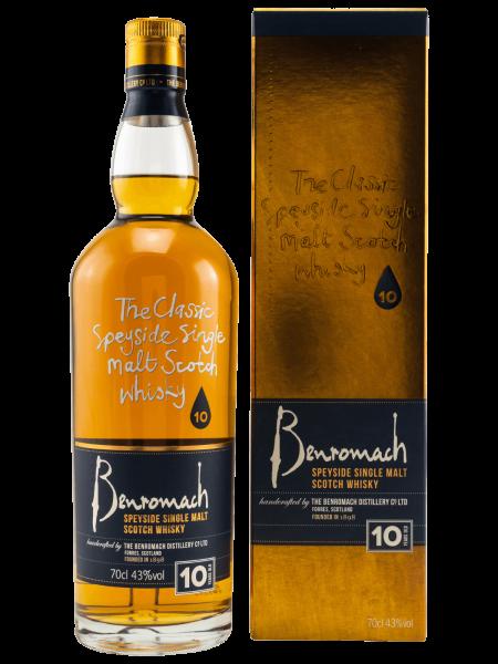10 Jahre - (alte Ausstattung) - Speyside Single Malt Scotch Whisky