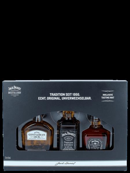 Miniatur 3er Set - No. 7 - Gentleman Jack - Single Barrel Select 3*5cl