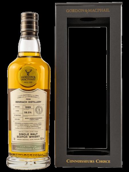 21 Jahre - 1999 - Gordon & MacPhail - Connoisseurs Choice - Single Malt Scotch Whisky
