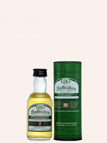 Miniatur - 10 Jahre - Heavily Peated - Highland Single Malt Scotch Whisky