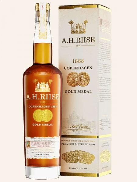 Copenhagen 1888 - Gold Medal - Rum