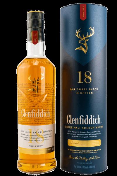 18 Jahre - Single Malt Scotch Whisky