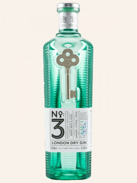 No. 3 London Dry Gin (Neues Design)