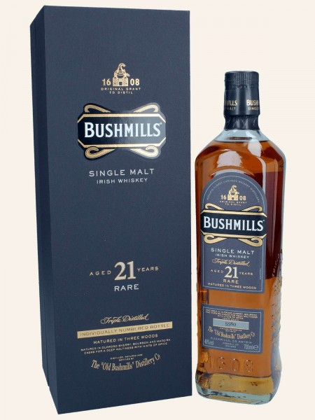 "21 Jahre Rare - ""Abfüllung 2020"" - Single Malt Irish Whiskey"