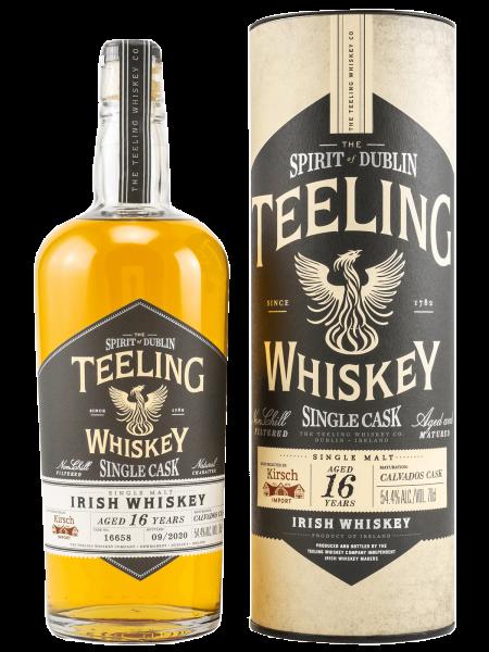 Single Cask Calvados - 16 Jahre - 2020 - Cask No. 16658 - Irish Whiskey