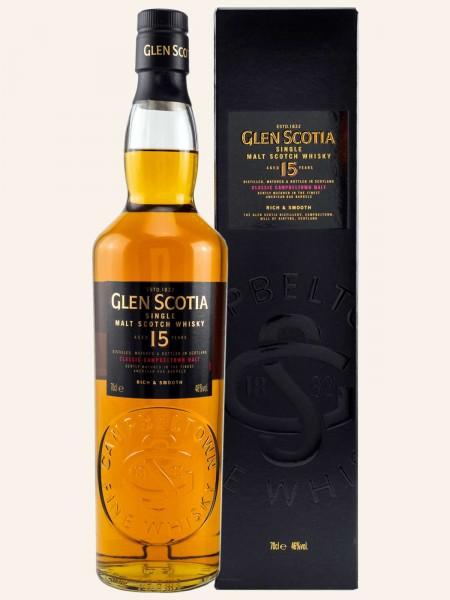 15 Jahre Campbeltown Single Malt Scotch Whisky
