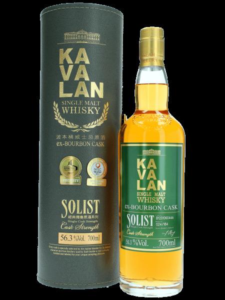 Solist Ex-Bourbon Cask - Kavalan Solist - B120106044A - Single Malt Whisky
