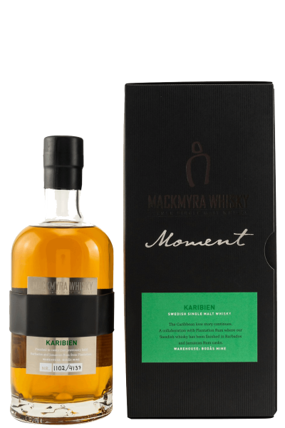 Moments - Karibien - Schwedischer Single Malt Whisky