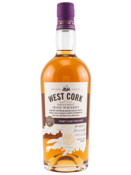 Port Cask Finish Single Malt Irish Whiskey