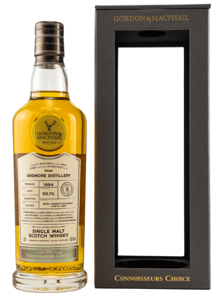 26 Jahre - 1994 - Gordon & MacPhail - Connoisseurs Choice - Single Malt Scotch Whisky
