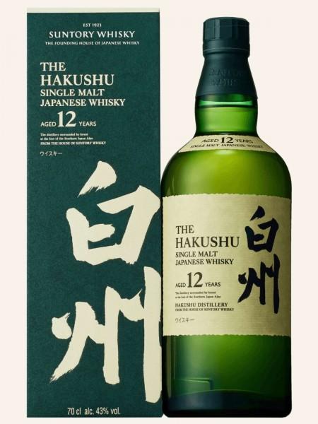 The Hakushu - 12 Jahre - Single Malt Japanese Whisky