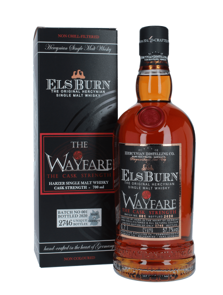 Wayfare - Cask Strenght - Batch 1 - 2020 - Single Malt Whisky