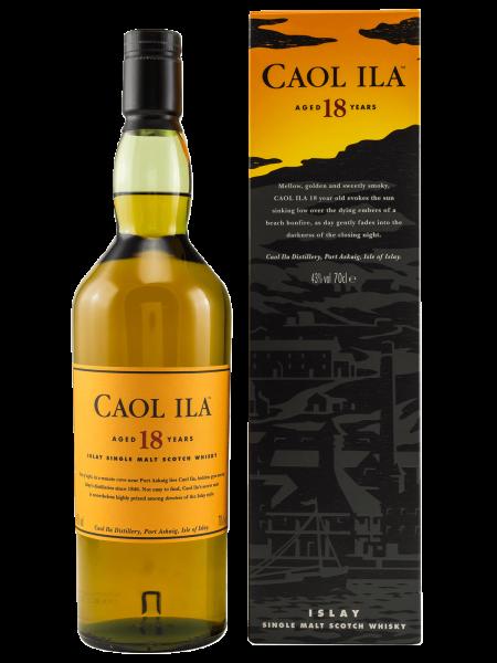 18 Jahre - Single Malt Whisky