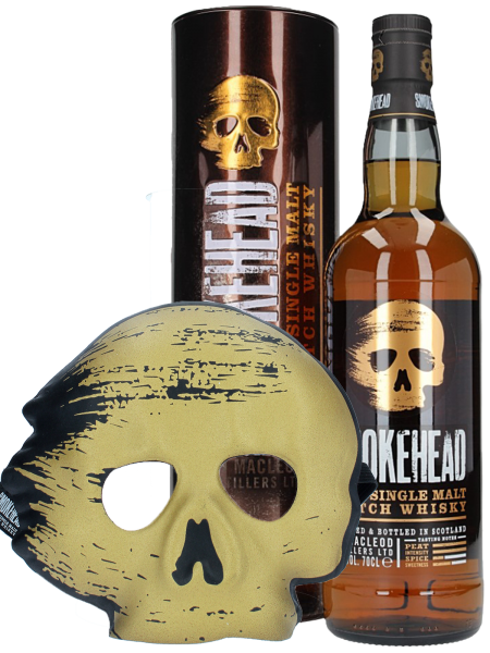 Islay Single Malt Scotch Whisky + Maske