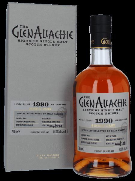 30 Jahre 1990/2020 - Madeira Single Cask No. 3605 - Speyside Single Malt Scotch Whisky