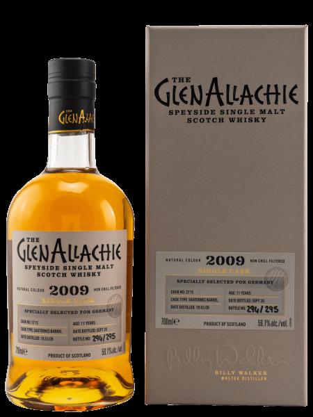 2009 - 11 Jahre - Cask No. 3715 - Speyside Single Malt Scotch Whisky
