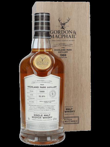 32 Jahre - 1988/2020 - Gordon & MacPhail - Connoisseurs Choice - Cask No. 1284 - Single Malt Scotch