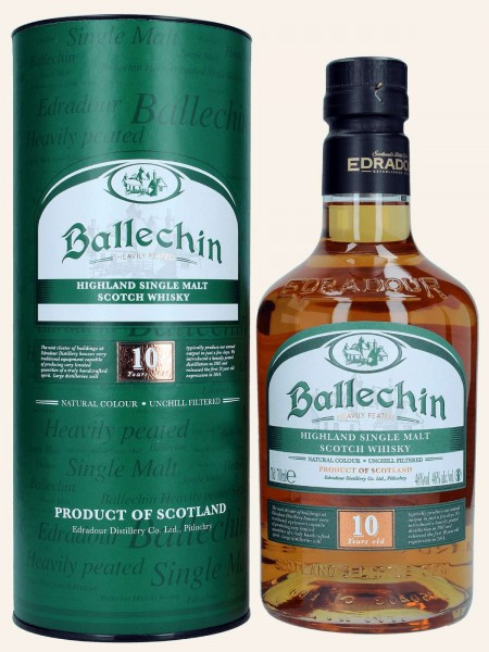10 Jahre - Heavily Peated - Highland Single Malt Scotch Whisky
