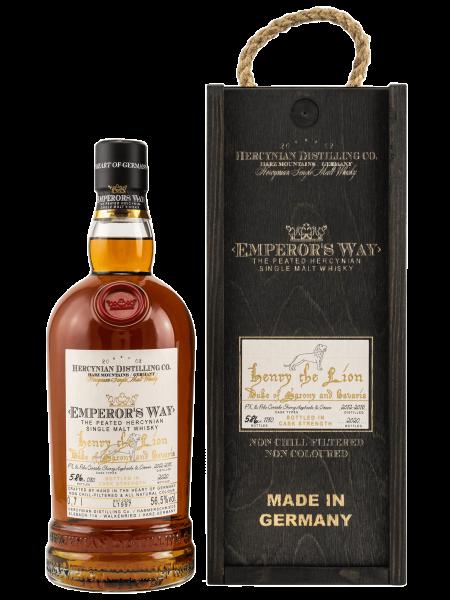 Emperors Way - Henry the Lion - PX & Palo Cortado Cask - Third Release - Single Malt Whisky