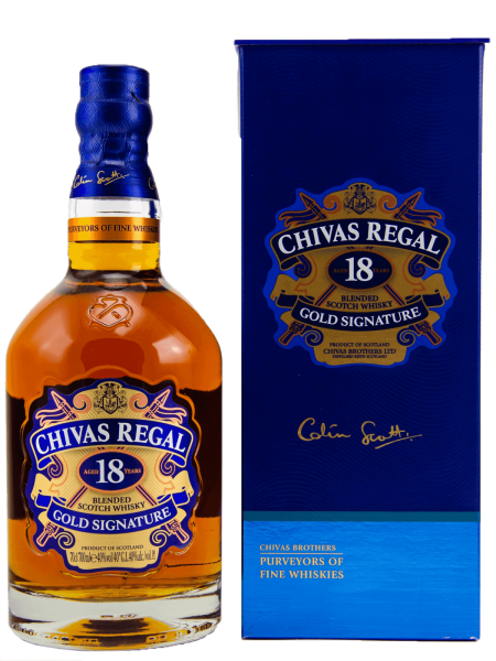 Gold Signature - 18 Jahre - Blended Scotch Whisky
