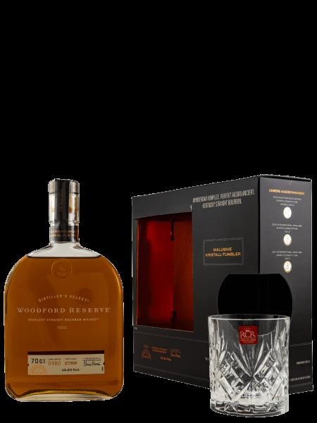 Distiller's Select - Kentucky Straight Bourbon Whiskey - Set mit Glas