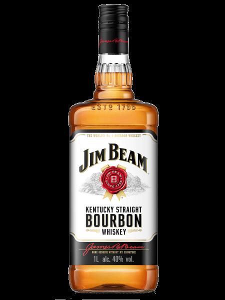 White Label - Kentucky Straight Bourbon Whiskey - 1,0 Liter Flasche