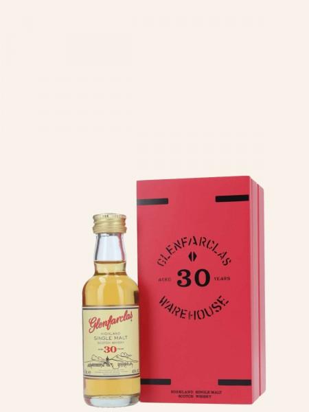 Miniatur 30 Jahre - Single Malt Scotch Whisky