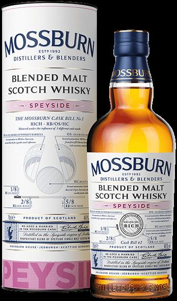 Speyside Rich Cask No 2 - Blended Malt Scotch Whisky