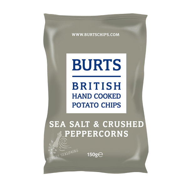British Potato Chips Sea Salt & Crushed Peppercorns