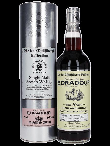 2010/2020 - 10 Jahre - Sherry Cask - Cask No. 51 - Signatory Vintage - Single Malt Whisky