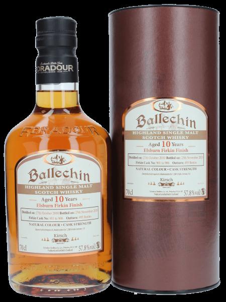 Elsburn Firkin Finish - 10 Jahre - 2010/2020 - Cask No. 901-906 - Single Malt Scotch Whisky