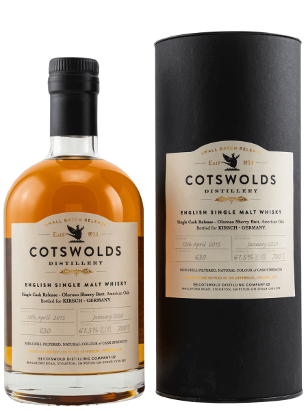 Oloroso Sherry Butt - 2015/2020 - English Single Malt Whisky