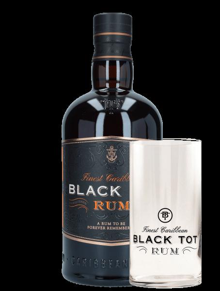Finest Caribbean - Blended Rum + 1 Highball Glas Geschenkset