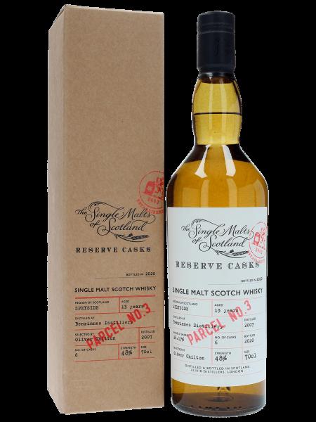 Parcel No. 3 - 13 Jahre - 2007/2020 - The Single Malts of Scotland - Single Malt Whisky