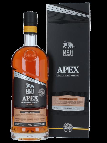Apex Cognac Cask - 2017/2020 - Batch No. 3 - Single Malt Whisky