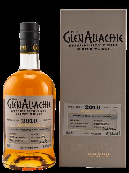 2010 - 9 Jahre - Cask No. 2482 - Speyside Single Malt Scotch Whisky