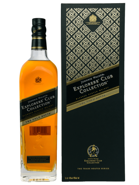 The Gold Route - Explorers Club Collection - 1L - Blended Scotch Whisky